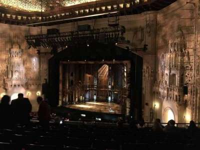 Orpheum Theatre (San Francisco), section: Mezzanine, row: L, seat: 18
