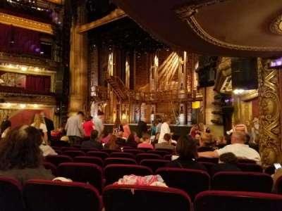 CIBC Theatre, section: Orchestra R, row: Q, seat: 20