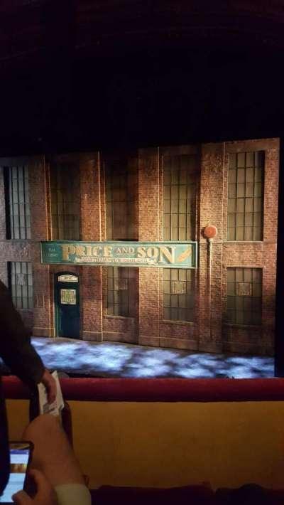 Al Hirschfeld Theatre, section: MezzR, row: C, seat: 4