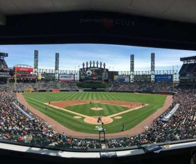 Guaranteed Rate Field, section: Box C, row: 4, seat: 3