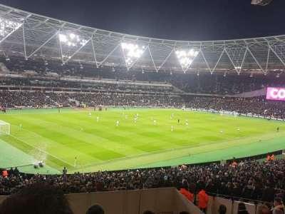 London Stadium, section: 230, row: 38, seat: 625
