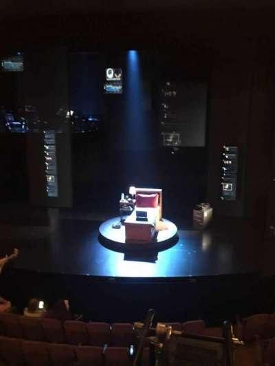 Music Box Theatre, section: Mezz Center, row: A, seat: 101