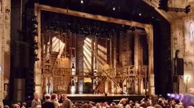 Orpheum Theatre (San Francisco), section: Orchestra L, row: U, seat: 3