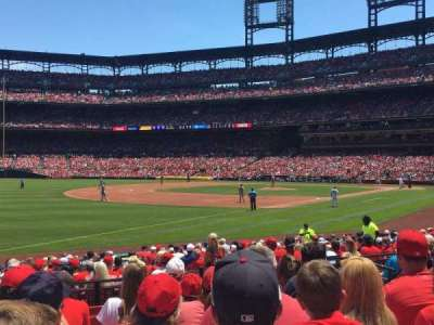 Busch Stadium, section: 164, row: 8, seat: 8