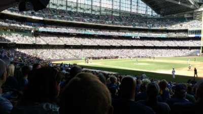 Miller Park, section: 111, row: 27, seat: 7