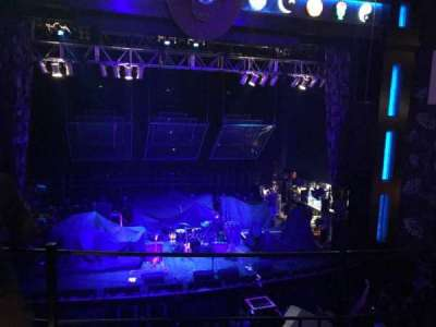 House Of Blues - Dallas, section: Balcony C, row: B, seat: 201
