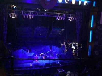 House Of Blues - Dallas, section: Balcony C, row: B, seat: 201