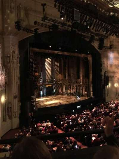 Orpheum Theatre (San Francisco), section: Loge L, row: B, seat: 21