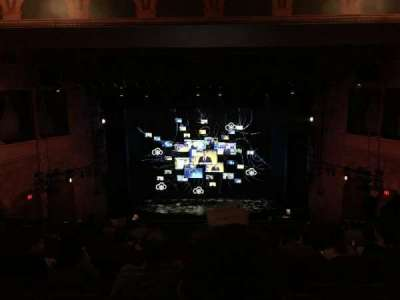 August Wilson Theatre, section: MEZZC, row: L, seat: 108