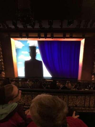 Lunt-Fontanne Theatre, section: Mid Mezzanine, row: C, seat: 106