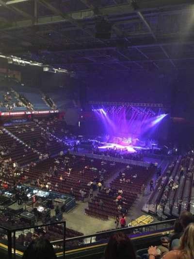 Mohegan Sun Arena, section: 110, row: F, seat: 14