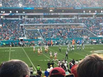 Hard Rock Stadium, section: 120, row: 22, seat: 18