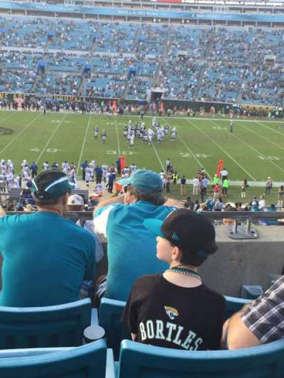 EverBank Field, section: 235, row: 4