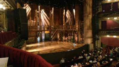 CIBC Theatre, section: Dress Circle Box 1, row: Aisle 11, seat: 205