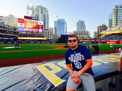 PETCO Park, section: 107, row: 8