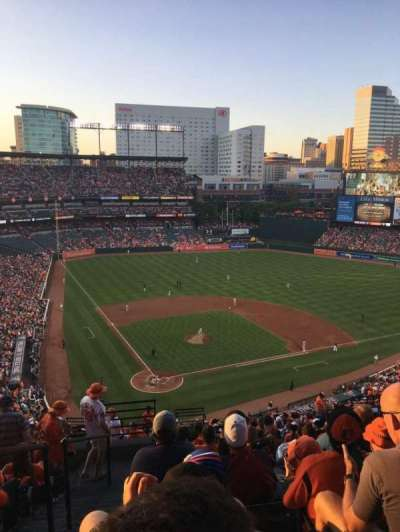 Oriole Park at Camden Yards, section: 330, row: 21, seat: 18