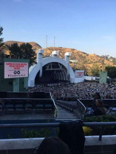Hollywood Bowl, section: P3, row: 2, seat: 31