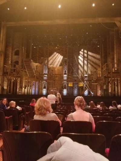 Orpheum Theatre (San Francisco), section: Orchestra, row: L, seat: 104