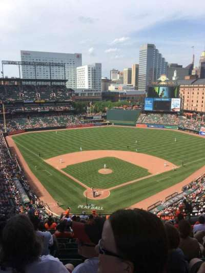 Oriole Park At Camden Yards Section 334 Home Of