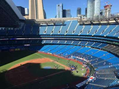 Rogers Centre, section: 532R, row: 10, seat: 7