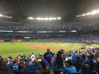 Rogers Centre, section: 130AL, row: 27, seat: 102