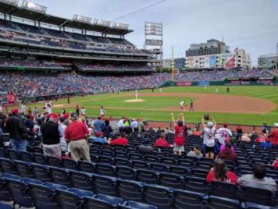 Nationals Park, section: 130, row: Z, seat: 5