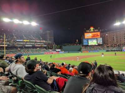Oriole Park at Camden Yards, section: 48, row: 10, seat: 4