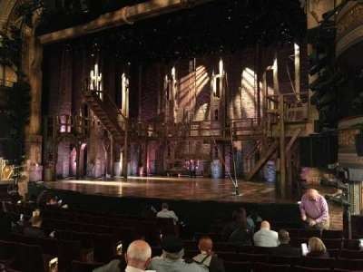 Richard Rodgers Theatre, section: Orchestra Left, row: L, seat: 16