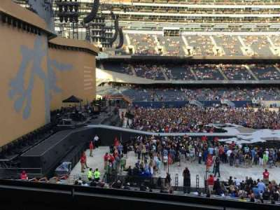 Soldier Field, section: 243, row: 5, seat: 17