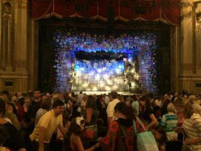 Boston Opera House, section: Orchestra Center, row: O, seat: 114