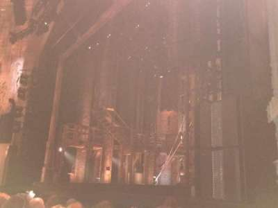 Orpheum Theatre (San Francisco), section: Orchestra, row: G, seat: 18