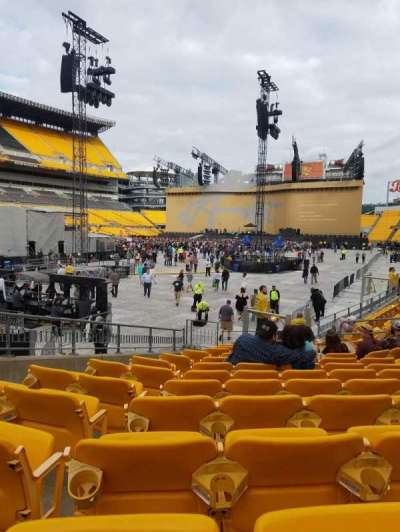 Heinz Field, section: 126, row: C, seat: 3