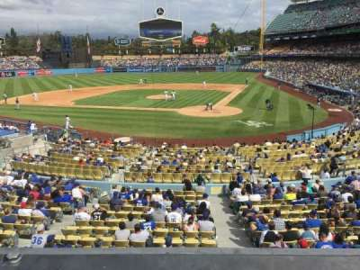 Dodger Stadium, section: 113LG, row: A, seat: 4