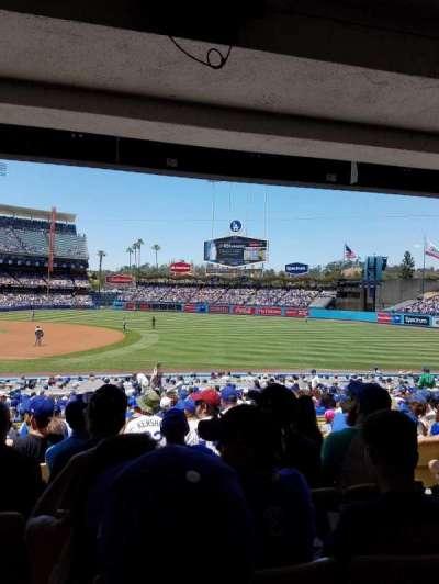 Dodger Stadium, section: 30FD, row: W, seat: 5