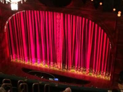 Shubert Theatre, section: Balcony Right, row: K, seat: 8