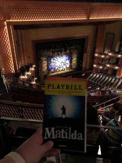 Walt Disney Theatre - Dr. Phillips Center, section: Upper Balcony, row: K, seat: 101