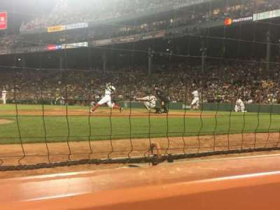 Fenway Park, section: Dugout, row: 1, seat: 1