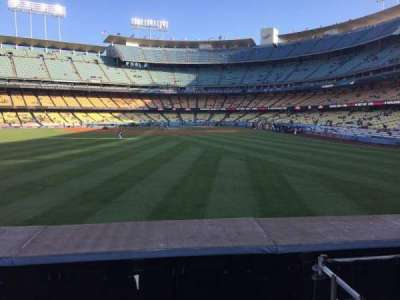 Dodger Stadium, section: 305PL, row: A, seat: 5