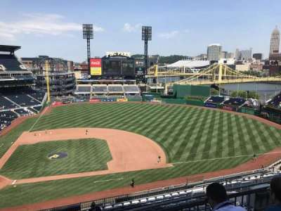 PNC Park, section: 310, row: F, seat: 14
