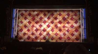 Brooks Atkinson Theatre, section: ORCH, row: N, seat: 109