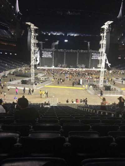 NRG Stadium, section: 138, row: CC, seat: 5