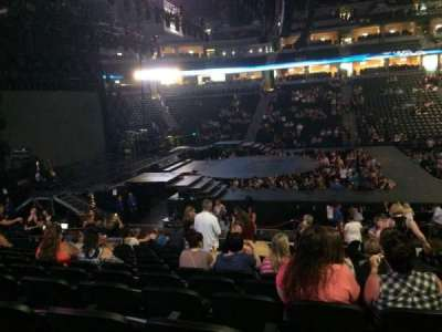 Pepsi Center, section: 126, row: 16, seat: 1