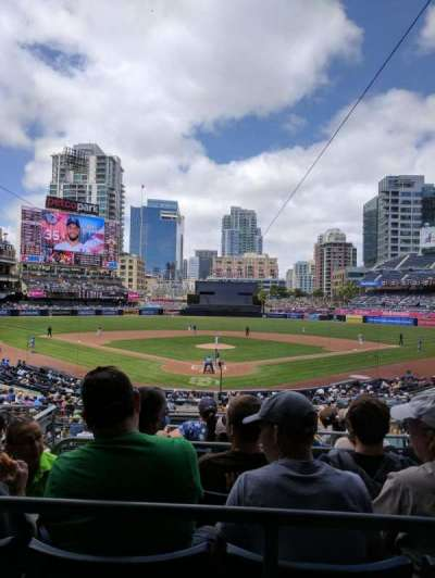 PETCO Park, section: Premier Club G, row: 8, seat: 2