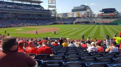 Nationals Park section 133