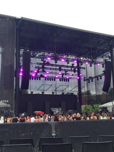 Red hat amphitheater, section: 3, row: 4