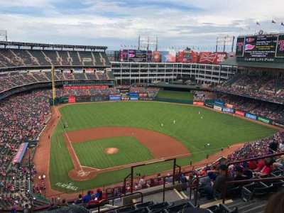 Globe Life Park in Arlington, section: 329, row: 19, seat: 19