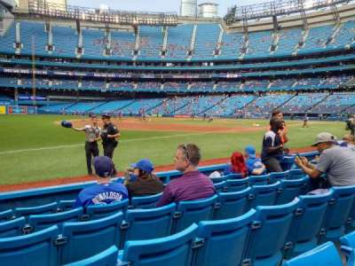 Rogers Centre, section: 134al, row: 6, seat: 111