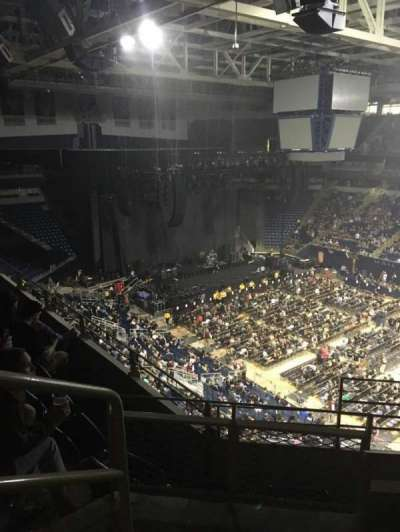 Petersen Events Center, section: 205, row: C, seat: 17