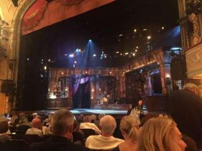Bernard B. Jacobs Theatre, section: Orchrestra, row: J, seat: 8