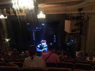 Music Box Theatre, section: Mezzanine, row: L, seat: 26